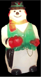 Boneco de Neve Presépio