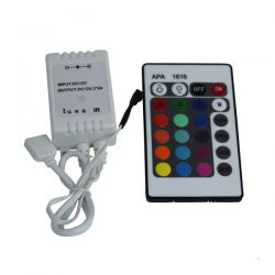 Controle Remoto p/ Fita de Led 24 Funcões