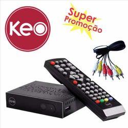 Conversor Digital E Gravador Keo K900 C/ Usb Hdmi Rca