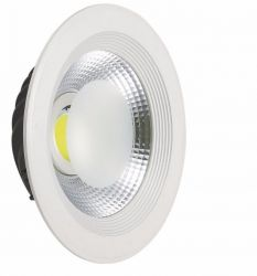 Luminaria Embutir Led Downlight Cob 165MM 15W Bivolt