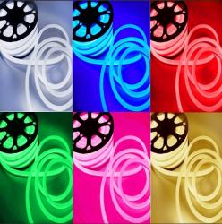 Mangueira Neon Rgb Fina 10mmx20mm