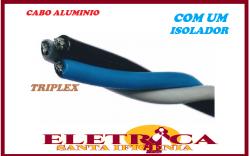 Cabo Alumínio Multiplex Triplex 35mm Neutro Isoladoo